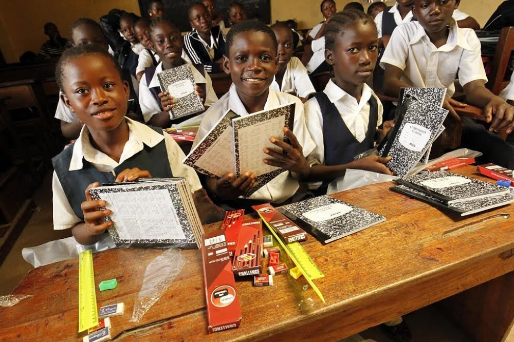 Escuela en Liberia (Foto USAID)
