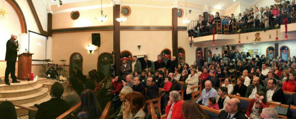 Una iglesia protestante, en Estambul